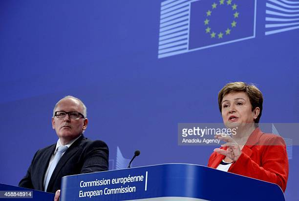 Frans Timmermans First VicePresident of European Commission in charge of Better regulation InterInstitutional Relations rule of Law and Charter of...