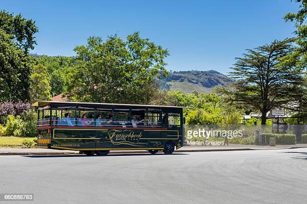 Franschhoek tourist Wine Tram