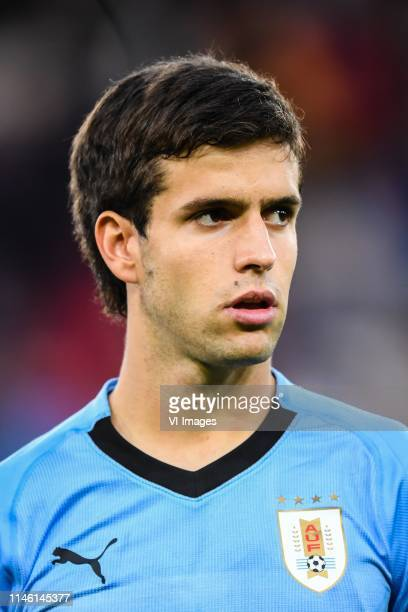 Fransisco Ginella of Uruguay U20 during the FIFA U20 World Cup Poland 2019 group C match between Uruguay U20 v Norway U20 at Lodz Stadium on May 24...