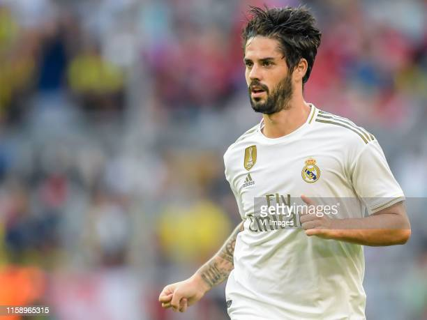 Fransisco Roman Alarcon Suarez of Real Madrid CF during the Preseason Friendly match between Real Madrid and Tottenham Hotspur FC at Allianz Arena on...