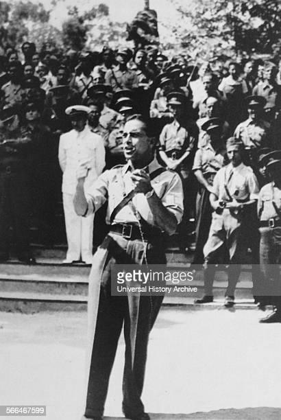 Franz Anton Sanz Spanish communist leader, during the Spanish Civil War.