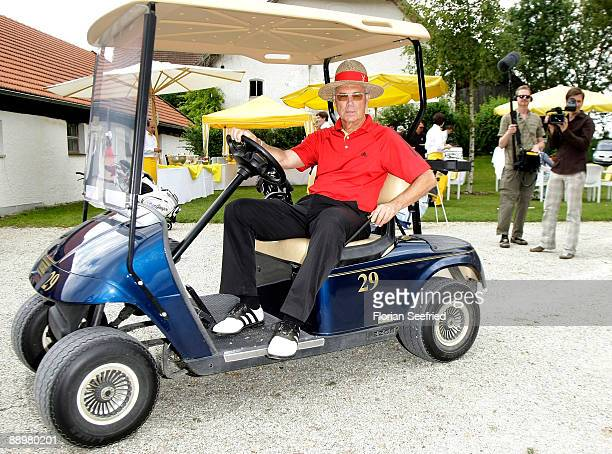 Franz Beckenbauer attends the golf tournament 'Kaiser Cup 2009' at 'Hartl GolfResort' on July 11 2009 in Bad Griesbach Germany