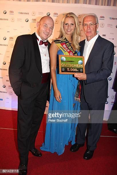 Franz Beckenbauer Caroline Noeding SponsorVertreter AbschlussGala nach 20 Eagles Präsidenten Golf CupJubiläumsturnier zu Gunsten Bedürftiger Bad...