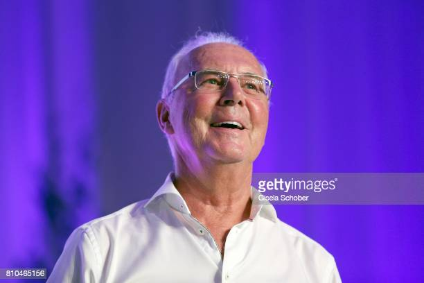 Franz Beckenbauer during a bavarian evening ahead of the Kaiser Cup 2017 at the Quellness Golf Resort on July 7 2017 in Bad Griesbach near Passau...