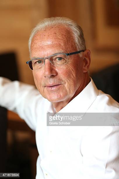 Franz Beckenbauer during the Franz Roth Golf Cup gala evening in favour of Michael Roll Stiftung 'Tabaluga' on May 1 2015 in Bad Woerishofen Germany