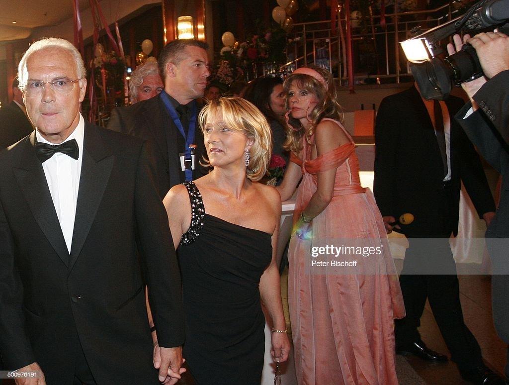 Franz Beckenbauer Ehefrau