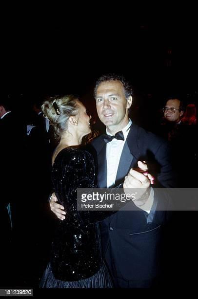 Franz Beckenbauer Ehefrau Sybille New York/USA/Amerika CosmosStadion Fußballstadion Fußballer Sportler tanzen Tanz
