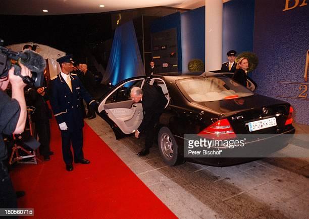 Franz Beckenbauer Ehefrau SybilleARDLive 52 BambiVerleihung Hotel'Estrel' Convention Center Berlin Deutschland Europa AutoWagen