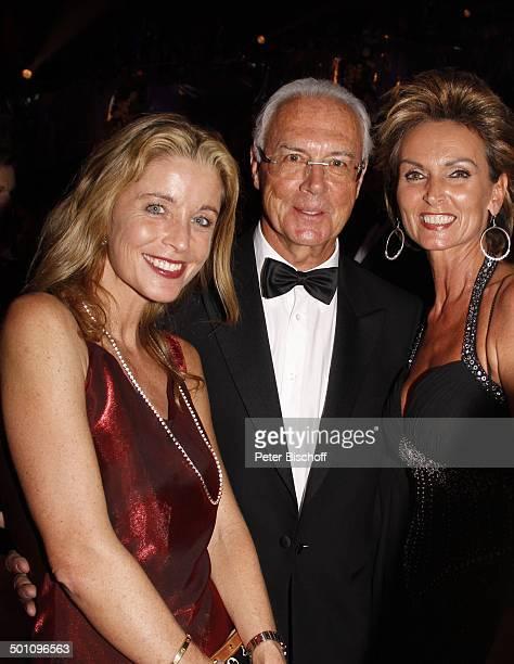 """Franz Beckenbauer , Liane Wirzberger , Nicole Stifter, Gala """"29. """"Deutscher Sportpresseball"""", Alte Oper, Frankfurt, Hessen, Deutschland, Europa, sexy..."""