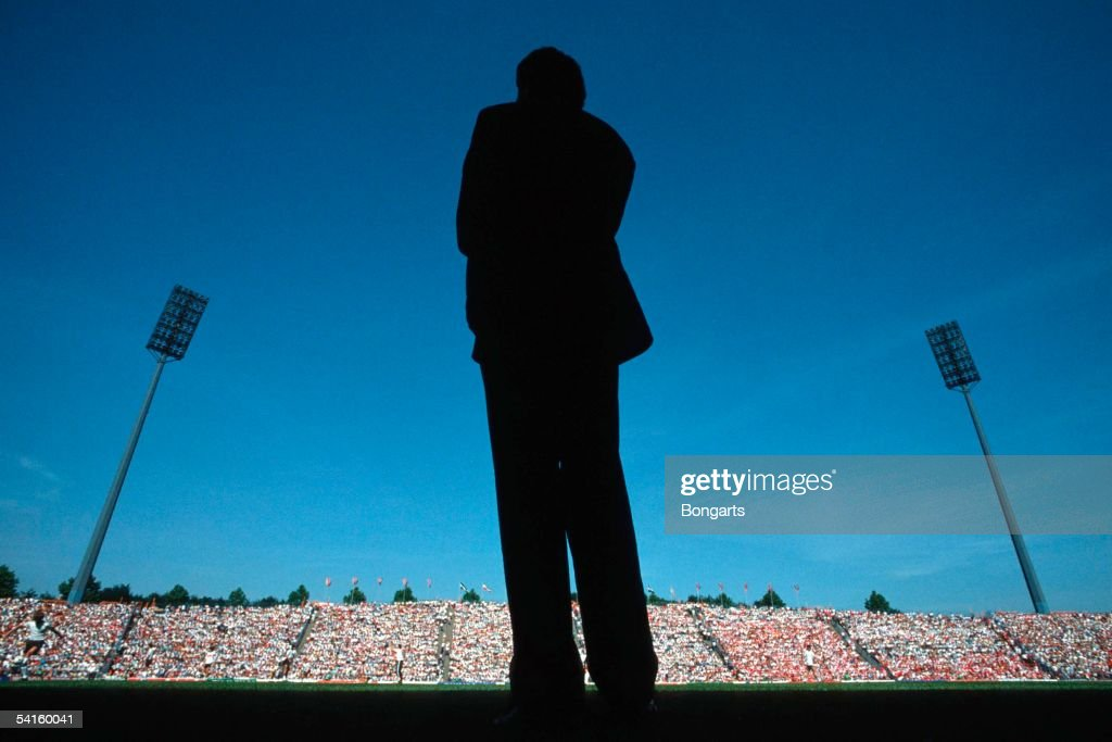 Franz Beckenbauer Team Manager of Germany is seen at the European Championship on June 14, 1988 in Munich, Germany.