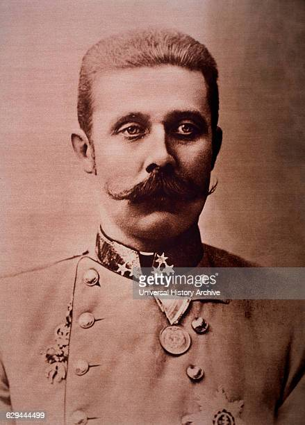 Franz Ferdinand Austrian Archduke Assassinated at Sarajevo Bosnia Herzegovina on June 28 Portrait