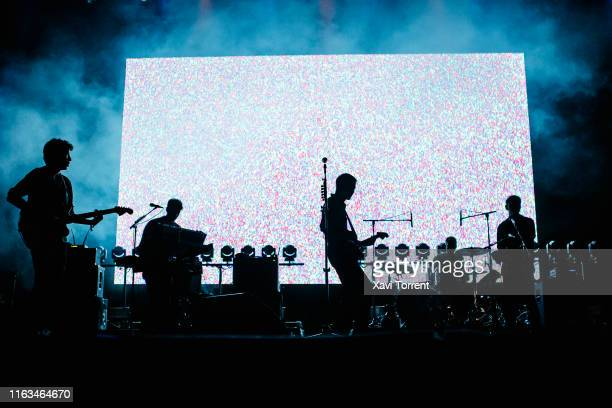 Franz Ferdinand perform in concert during the Festival Internacional de Benicassim on July 21, 2019 in Benicassim, Spain.