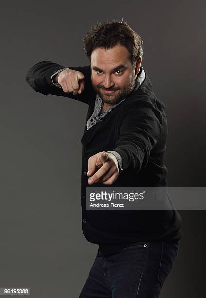Franz Hartung of mayolove poses during a portrait session at the Digital Life Design conference at HVB Forum on January 25 2010 in Munich Germany DLD...