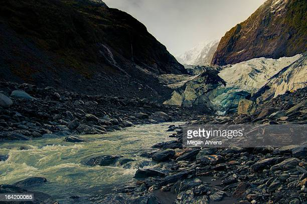 Franz Josef Glacier and Waiho River