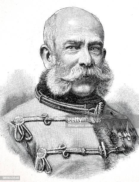 Franz Joseph I., 18 August 1830 - 21 November 1916, also Archduke Franz Joseph Karl of Austria from the House of Habsburg-Lorraine, was from 2...