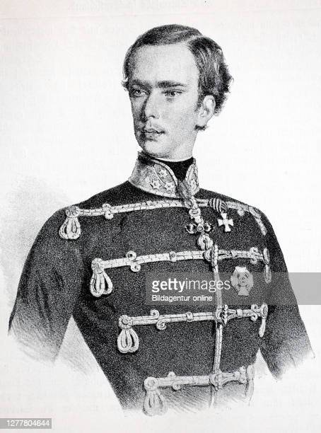Franz Joseph I, born August 18, 1830 at Schonbrunn Palace, today in Vienna, November 21, 1916. Archduke Franz Joseph Karl of Austria from the House...