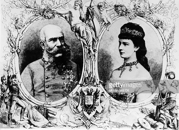 Franz Joseph I Emperor of AustriaFranz Joseph I Kaiser von ÖsterreichElisabeth 'Sisi' Empress of AustriaElisabeth 'Sisi' Kaiserin von Österreich...