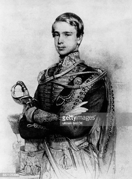 Franz Joseph I. , Kaiser von Österreich 1848-1916, König von Ungarn seit-1867, - 1847