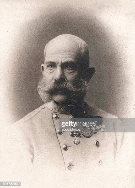 Franz Joseph I of Austria Emperor of Austria and Apostolic King of Hungary born in Vienna Ca 1900