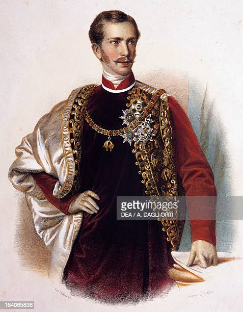 Franz Joseph I of Austria , Emperor of Austria and King of Hungary , King of Lombardy-Venetia until 1866. Son of Archduke Franz Karl of Austria and...