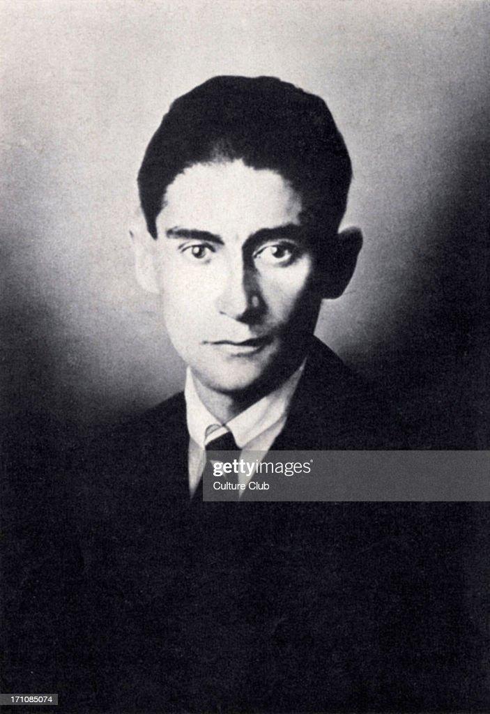 Franz Kafka - portrait . Czech writer. 3 July 1883 - 3 June 1924.