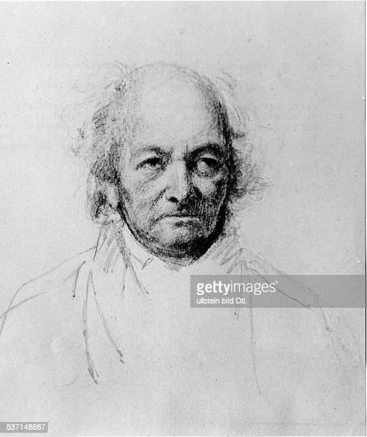Franz KruegerFranz KruegerJoseph Mendelssohn Bankier D begründete mit seinem Bruder das Bankhaus Mendelssohn Co Porträt Zeichnung von Franz Krüger