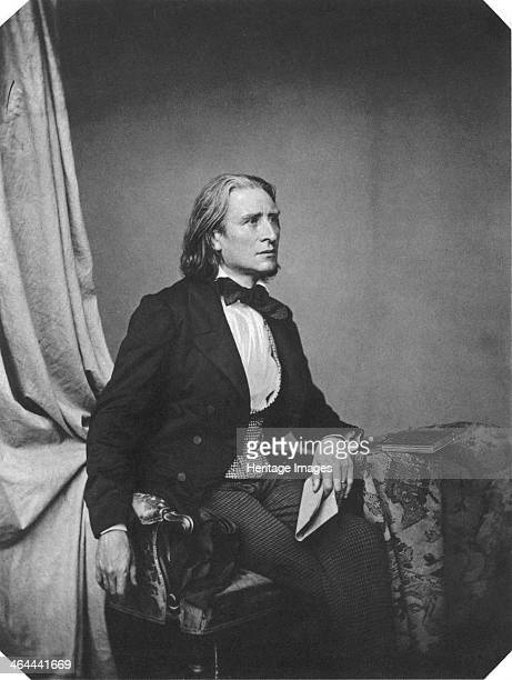 Franz Liszt Hungarian composer and pianist c1860 Liszt was regarded by his contemporaries as the most techically advanced pianist of his time As a...