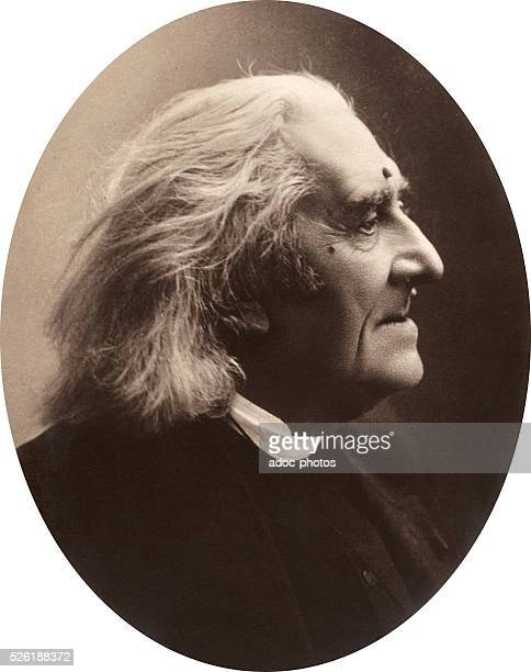 Franz Liszt Hungarian composer virtuoso pianist and teacher Ca 1880