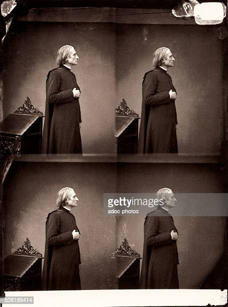 Franz Liszt Hungarian composer virtuoso pianist and teacher In May 1865