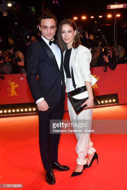 Franz Rogowski and Paula Beer attend the The Kindness Of Strangers premiere during the 69th Berlinale International Film Festival Berlin at Berlinale...