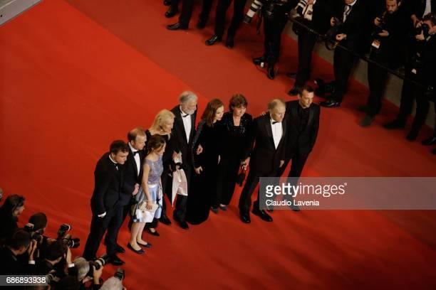 Franz Rogowski, Toby Jones, Fantine Harduin, Susi Haneke, Michael Haneke, Isabelle Huppert, Marianne Hoepfner, Jean-Louis Trintignant and Mathieu...