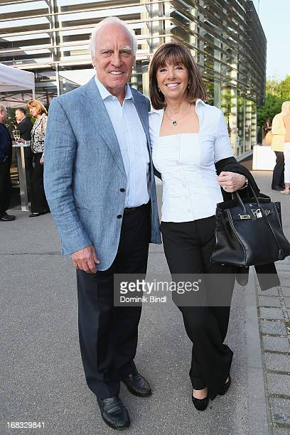 Franz Roth and Helena von Sarkoezy attend the Aston Martin 100 year anniversary on May 8, 2013 in Munich, Germany.