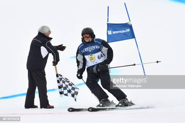 Franz Tost takes part in the KitzCharityTrophy on January 20, 2018 in Kitzbuehel, Austria.