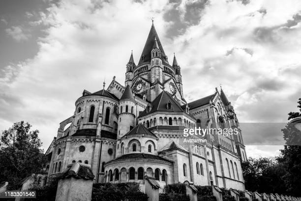 franz von assisi kirche - kirche stock pictures, royalty-free photos & images
