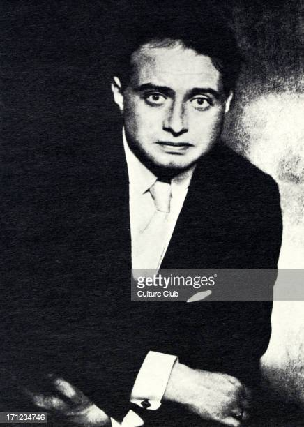 Franz Werfel photographed by Hugo Erfuth Czech poet playwright and novelist 18901945 Alma Mahler connection Central themes religious faith heroism...