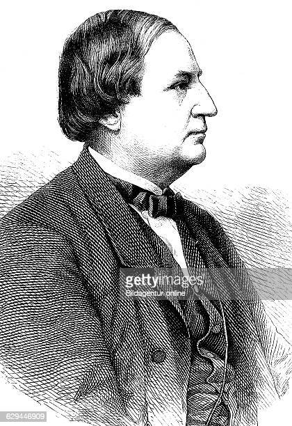 Franz wilhelm abt 18191885 a german composer and conductor historical engraving circa 1869