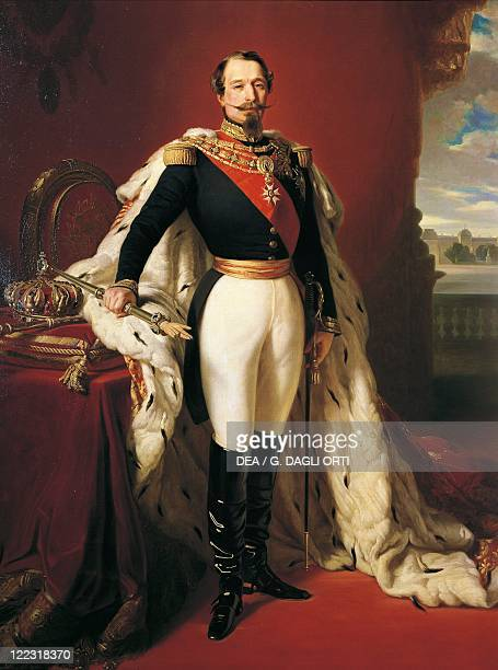 Franz Xaver Winterhalter Portrait of Napoleon III French Emperor
