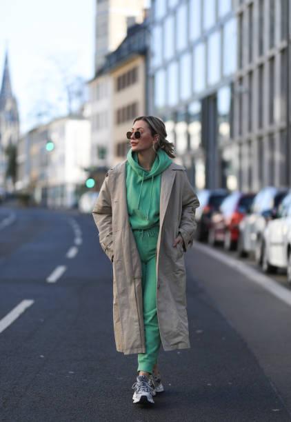 DEU: Street Style - Cologne - February 28, 2021
