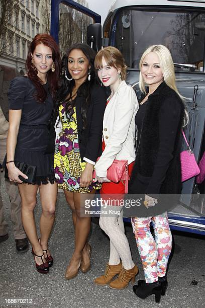 Franziska Alber Kristina Schmidt Alicia Endemann and Fereba Kone At The End Of The Germany premiere House of Anubis Path The 7 Sins In The Culture...