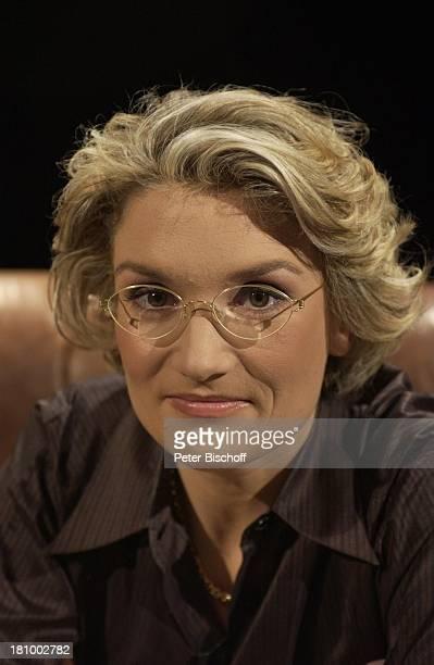Franziska Augstein Portrait geb 18September 1964 Sternzeichen Jungfrau ZDFTalkSendung Gero von Boehm begegnet Franziska Augstein Berlin...