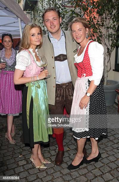 Franziska Balzer girlfriend of Maximilian Prinz zu Sayn Wittgenstein Berleburg and his sister Stefanie Prinzessin zu Sayn Wittgenstein Berleburg...
