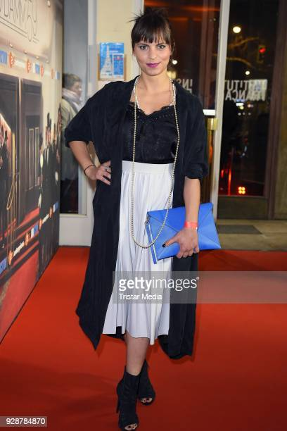 Franziska Benz during the premiere of 'Ku'damm 59' at Cinema Paris on March 7 2018 in Berlin Germany