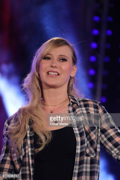 Franziska during the TV Show 'Meine Schlagerwelt Die Party' hosted by Ross Antony on January 31 2018 in Leipzig Germany