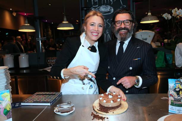 """DEU: Franziska Fugger Von Babenhausen Presents Her New Cook Book """"Magic Food""""  At Dinzler Kaffeerösterei"""
