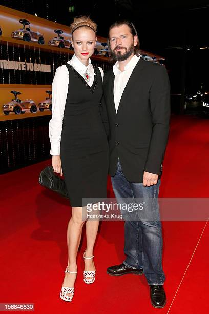 Franziska Knuppe and Christian Moestl attend the Tribute to Bambi 2012 at the Station on October 18 2012 in Berlin Germany