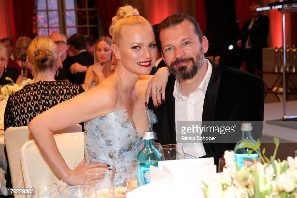 Franziska Knuppe and her husband Christian Moestl during the Gala Spa Awards at Brenners ParkHotel Spa on March 30 2019 in BadenBaden Germany