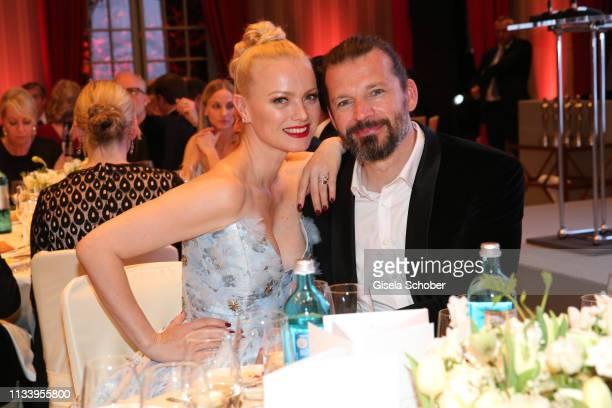 Franziska Knuppe and her husband Christian Moestl during the GrunerJahr Spa Awards at Brenners ParkHotel Spa on March 30 2019 in BadenBaden Germany