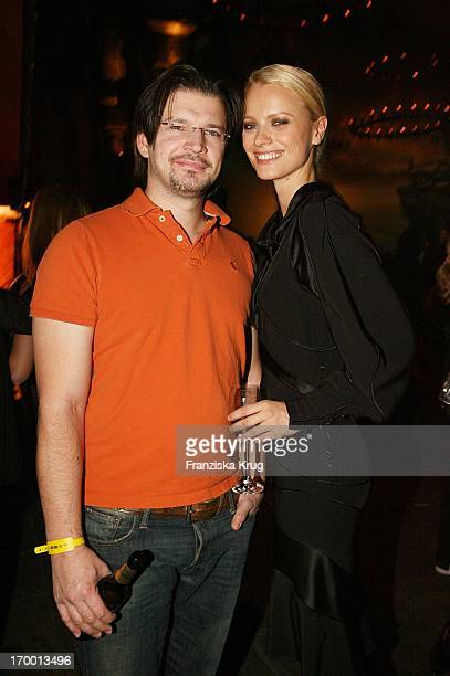 Franziska Knuppe And Husband Christian Moestl at the aftershow party for European premiere of King Kong Berlin
