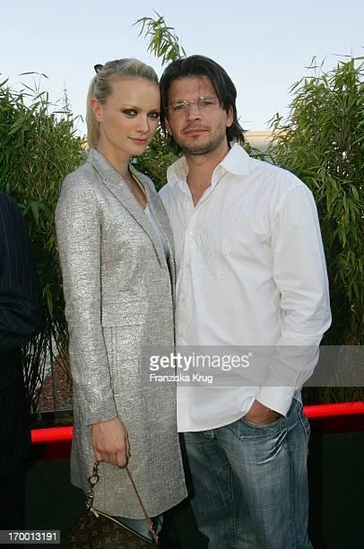 Franziska Knuppe And Husband Christian Moestl BILD Summer Fesitival In Berlin On 280605