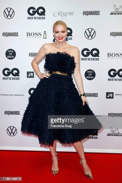 Franziska Knuppe arrives for the 21st GQ Men of the Year Award at Komische Oper on November 07 2019 in Berlin Germany